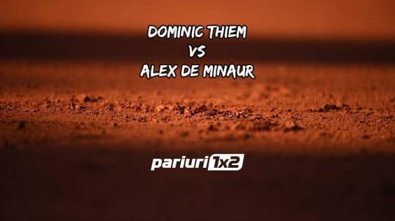 Pariuri tenis » Thiem – De Minaur: Austriacul domina in disputele directe!