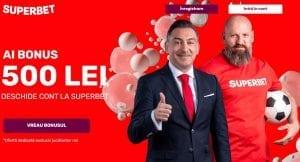 Bonus de 500 RON la Superbet pentru jucatorii noi! »» De neratat in 2021!