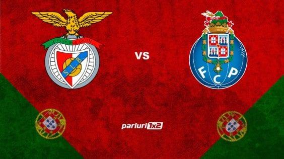 "Pariuri fotbal: Benfica – Porto » ""Vulturii"" ataca locul rivalei"
