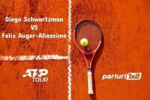 Ponturi tenis » Schwartzman – Auger-Aliassime: Finalistul din 2020 este favorit la victorie!