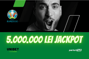 DISPONIBIL ACUM! Jackpot de 5.000.000 RON la EURO 2020!