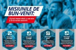 Sportingbet: Bani gratis de pariuri în 2021 » 400 RON + 50 de rotiri gratuite!!