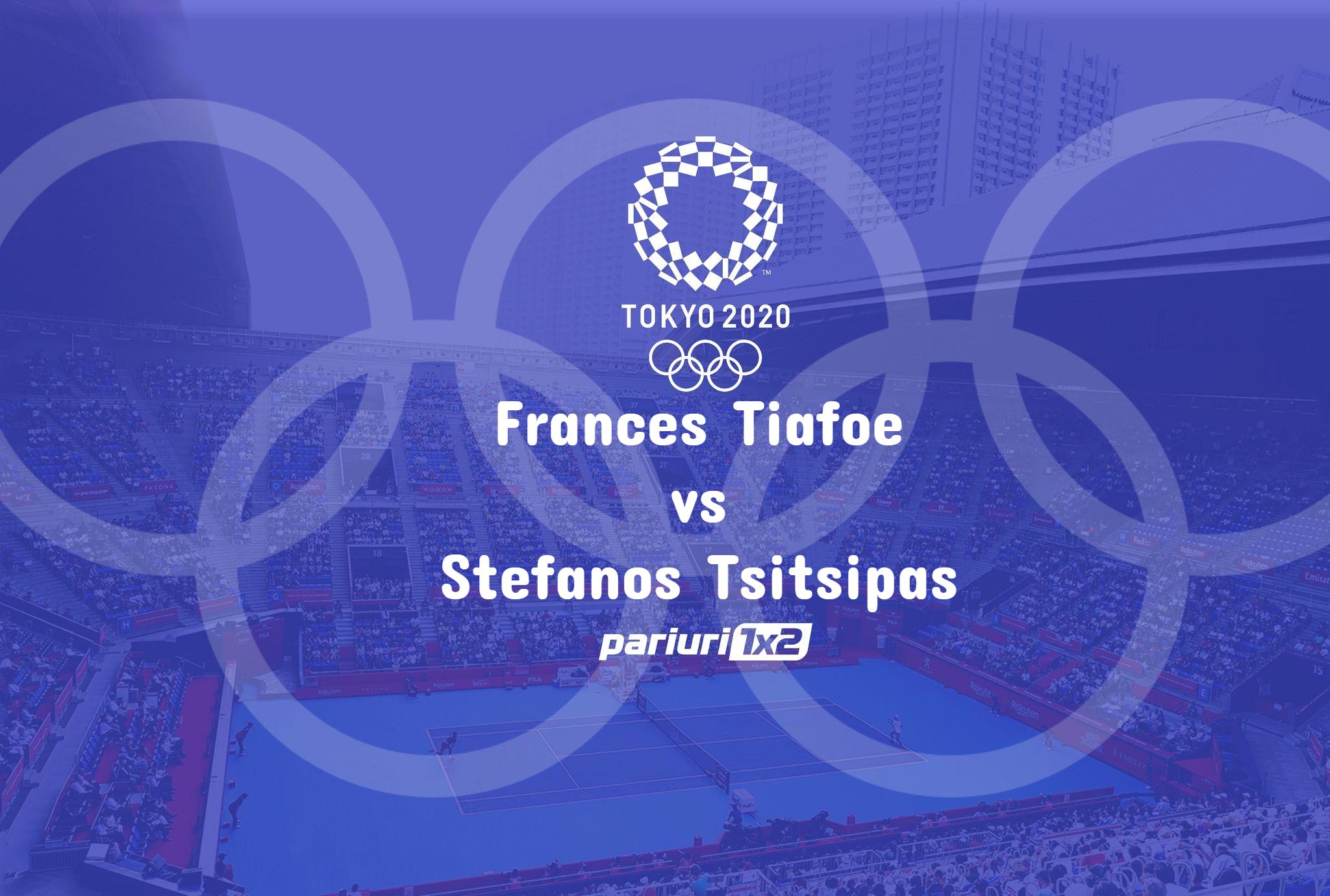 Ponturi tenis Tiafoe - Tsitsipas