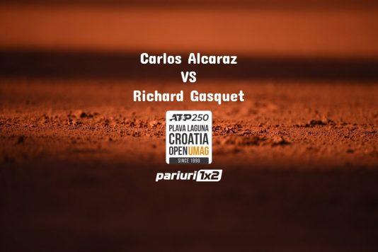 Alcaraz - Gasquet
