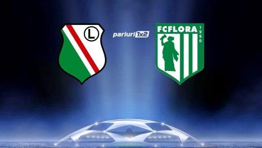 Legia Varsovia - Flora Tallinn