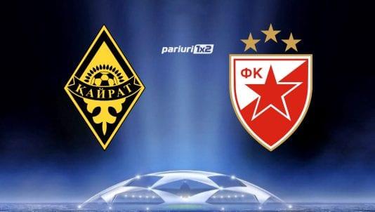 Ponturi bune Kairat Almaty - Steaua Rosie Belgrad