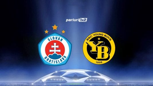Ponturi Bune Slovan Bratislava - Young Boys Berna