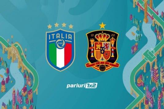 Ponturi bune » Italia - Spania