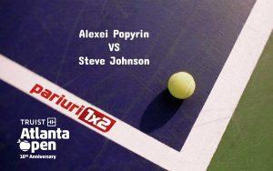 Pariuri tenis » Popyrin – Johnson: Australianul are un singur succes in ultimele opt meciuri!