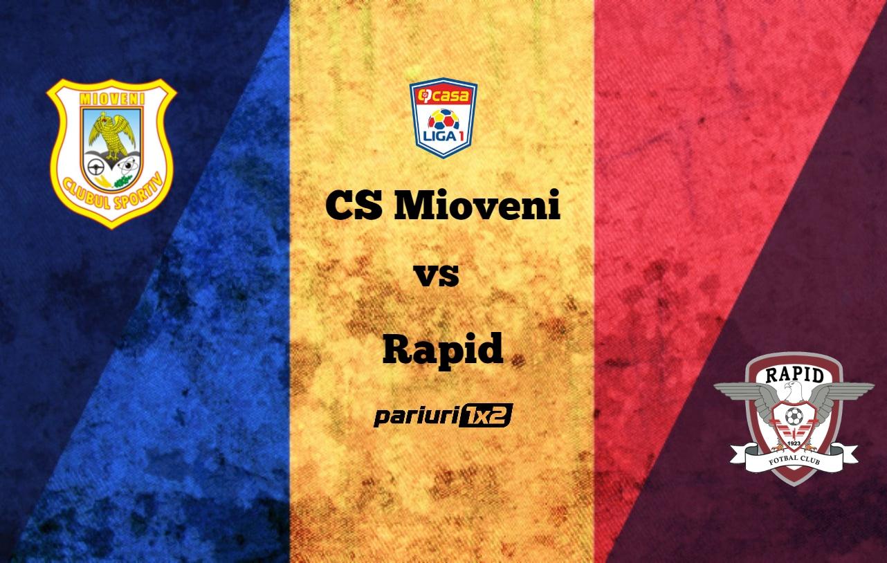 CS Mioveni - Rapid