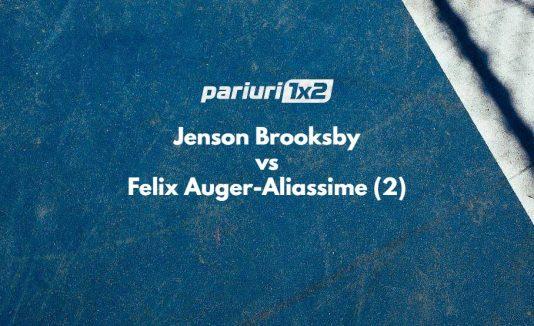 Ponturi bune Brooksby - Auger-Aliassime