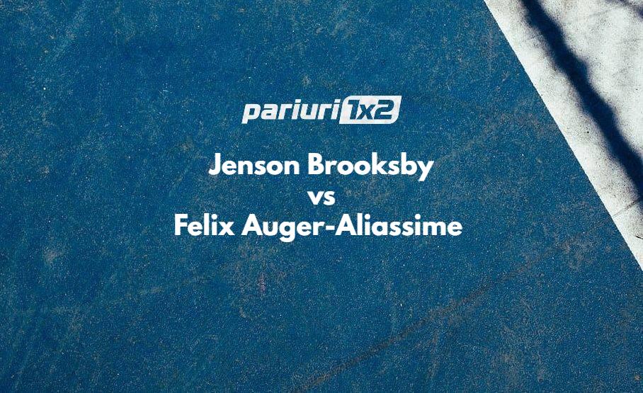 Ponturi tenis Brooksby - Auger-Aliassime
