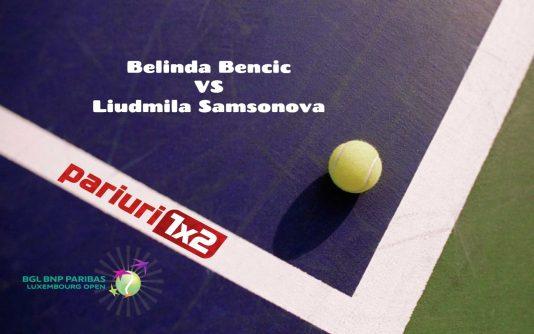 Bencic - Samsonova