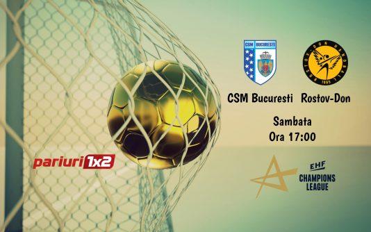 CSM Bucuresti - Rostov-Don