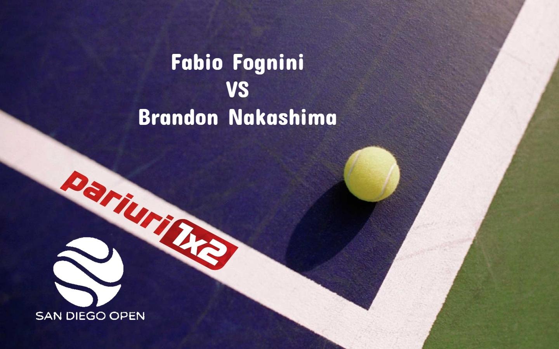 Fognini - Nakashima