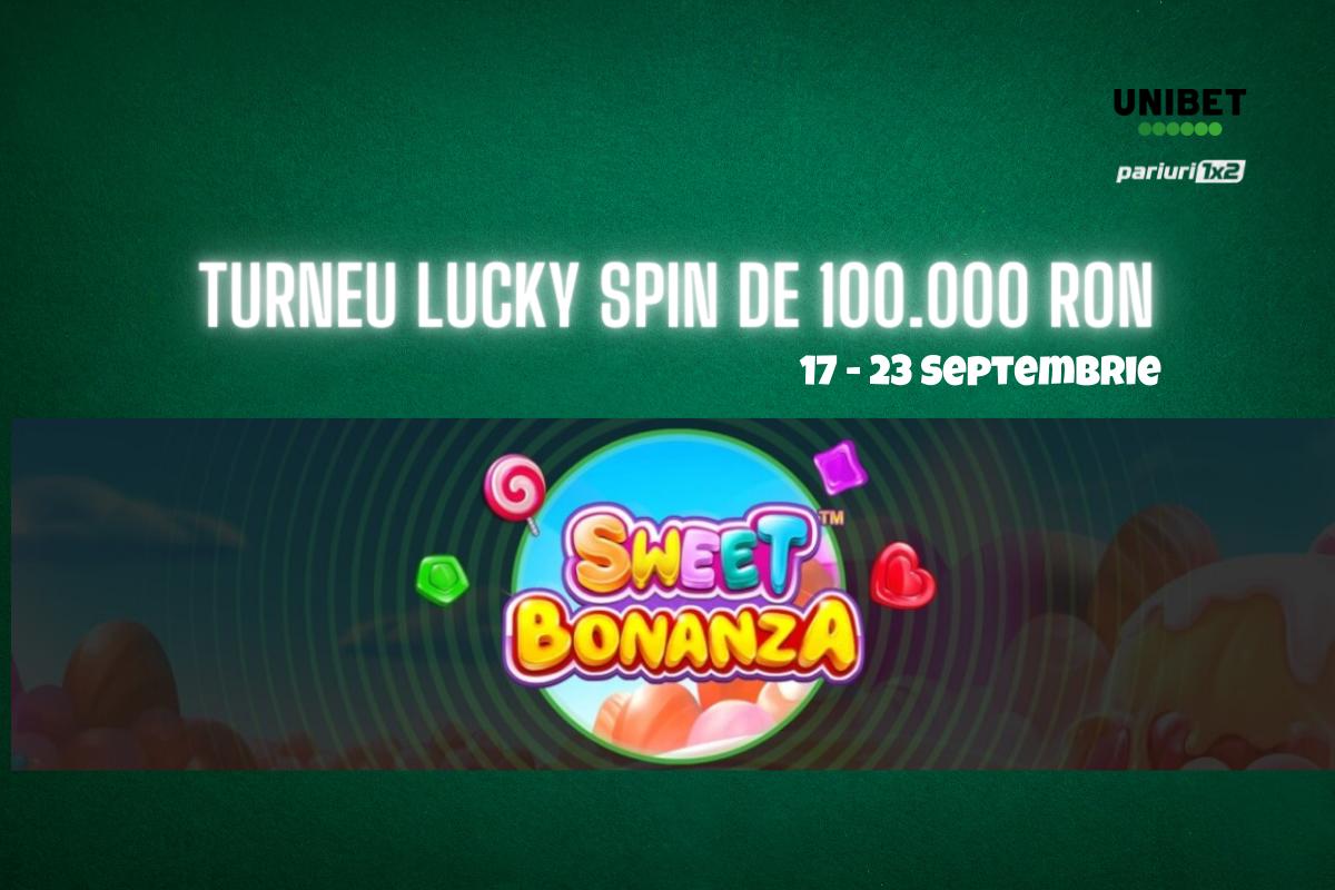 Turneu Lucky Spin de 100.000 RON