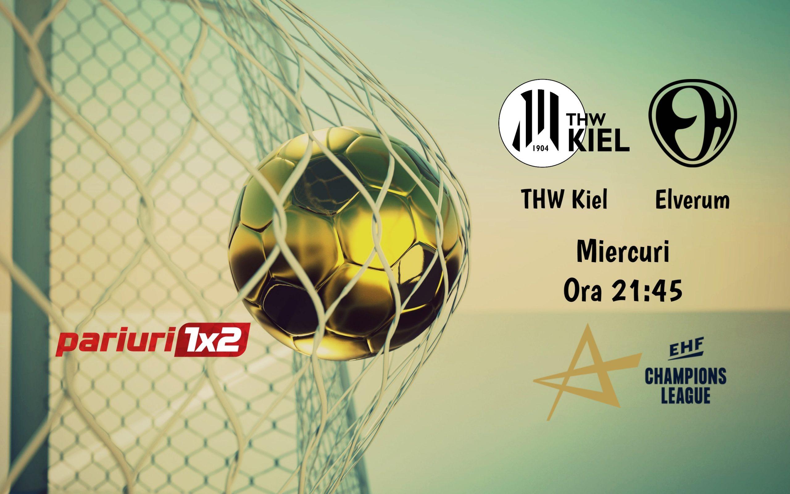Pariuri handbal » Kiel – Elverum: Misiune facila pentru campioana din 2020!