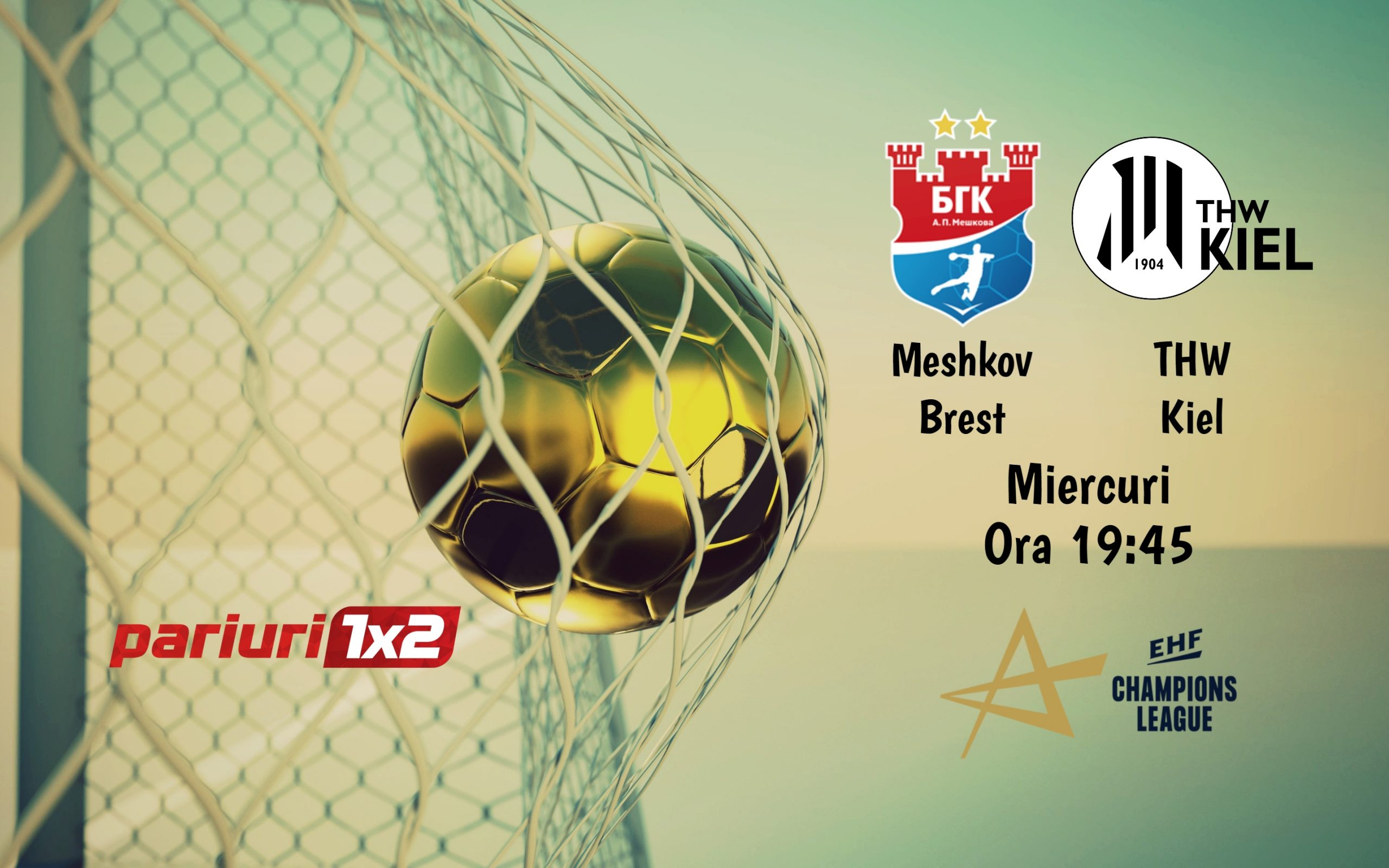 Meshkov Brest - THW Kiel