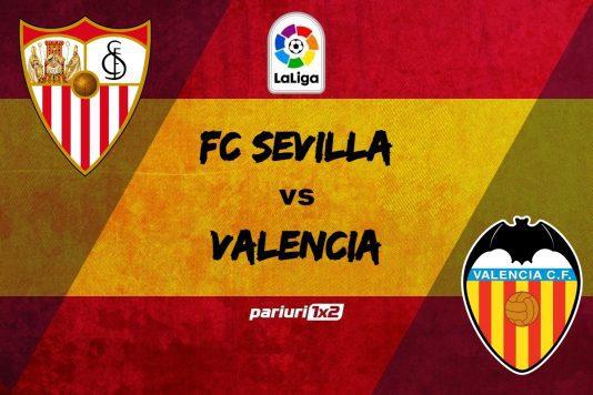 Ponturi bune FC Sevilla - Valencia