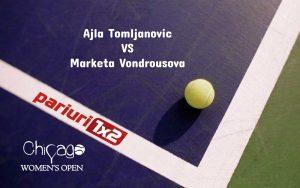 Tomljanovic - Vondrousova