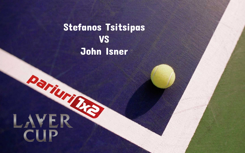 Tsitsipas - Isner