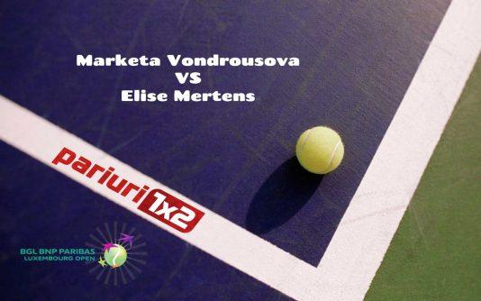 Vondrousova - Mertens