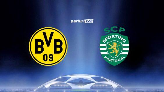 Pariuri fotbal: Dortmund – Sporting » Goluri multe in meciurile Borussiei