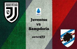 "Pariuri fotbal: Juventus – Sampdoria » Juve a intrerupt miercuri seria ""neagra"""