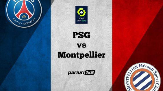 Pariuri fotbal: PSG – Montpellier » Duelul celor mai bune ofensive din Ligue 1