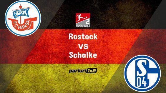 "Pariuri fotbal » Rostock – Schalke: ""Minerii"" n-au deloc un palmares bun contra Hansei!"
