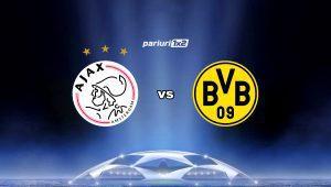 Pariuri fotbal: Ajax – Dortmund: Spectacol pe Johan Cruijff Arena »» Vezi cum pariem!