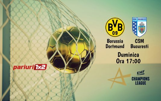 Dortmund - CSM Bucuresti