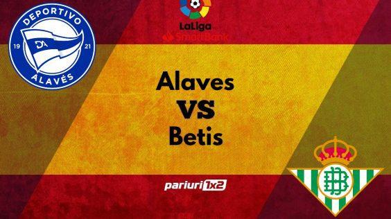 Ponturi bune » Alaves – Betis: Pariem pe o cota de 1.65 in duelul de la Vitoria-Gasteiz