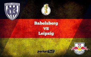 Pariuri fotbal: Babelsberg – Leipzig » RB isi va menaja starurile in Cupa Germaniei