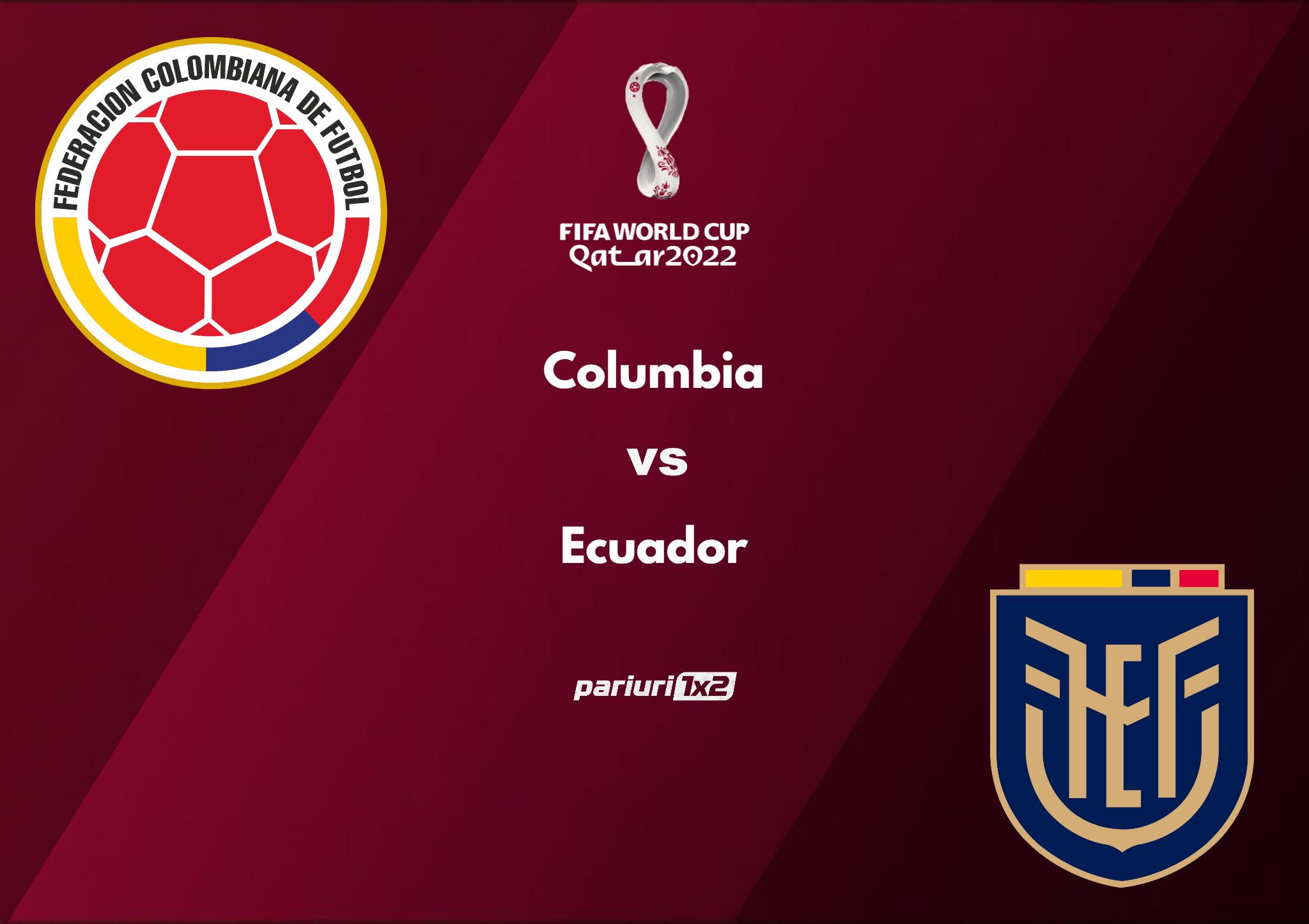 columbia - ecuador