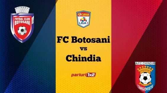 Pariuri fotbal: FC Botoșani – Chindia » Moldovenii, obligați la victorie pentru a reveni pe podium în Liga 1!