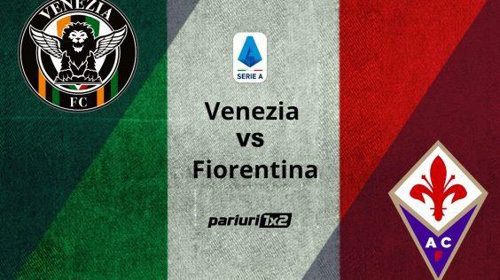 Pariuri fotbal: Venezia – Fiorentina » Am ales o cota de 1.55 in epilogul etapei din Serie A